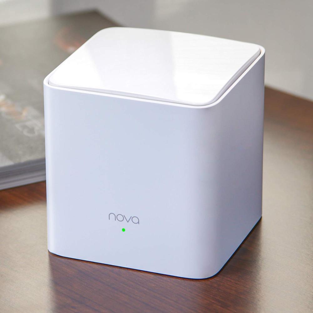 Le système WiFi de maille de maison entière de Tenda NOVA MW5S remplace les prolongateurs de routeur de WiFi à ca de Gigabit double bande jusqu'à 3500 Sq. Ft. Couverture - 3