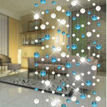1m / Indoor decorative crystal glass bead curtain, wedding supplies festive stage background decoration