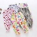 Venda quente novo design colorido padrão da roupa do bebê calças crianças meninas meninos calças calças Crianças roupa da criança