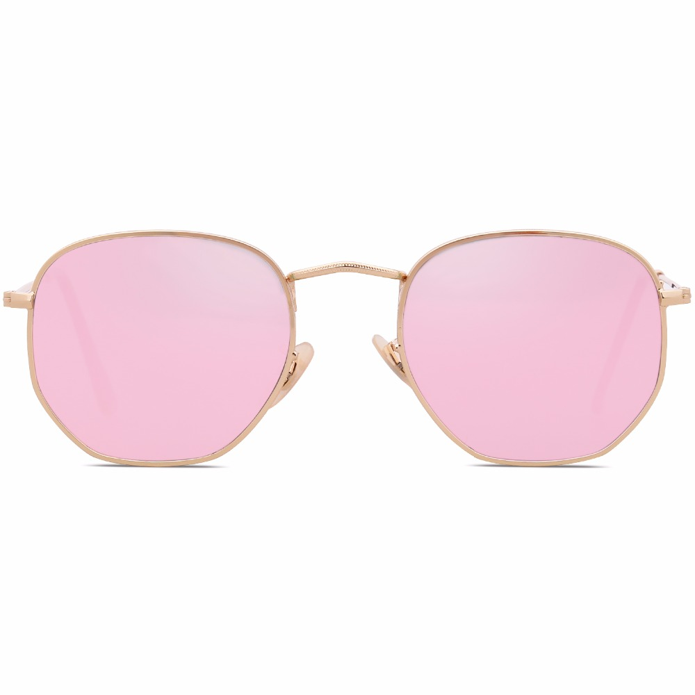 c9efb83466 SojoS Small Classic Square Polygon Sunglasses for Men and Women Mirrored  Lens Glasses SJ1072-in Sunglasses from Apparel Accessories on  Aliexpress.com ...