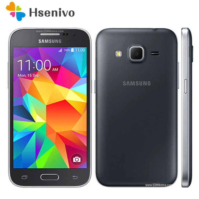 100% Unlocked Original Samsung Galaxy Core Prime G360F 4G LTE Cell Phone Quad Core Dual Sim card 1GB RAM 4.5 Inch Touch Screen(China)