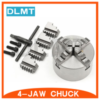 K12-160 4-jaw high-accuracy self-centering chuck 6
