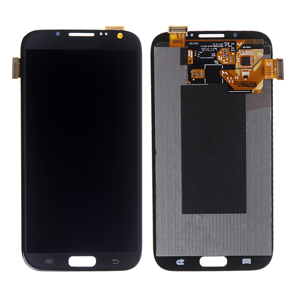 ФОТО New LCD Touch Screen Digitizer For Samsung Galaxy Note 2 N7100 T889 i317 N7105  free shipping