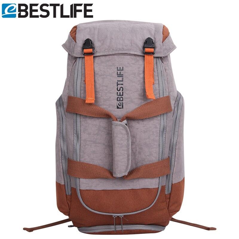 BESTLIFE Adventure Travel Backpack Men Luggage Multi-function Waterproof Large Mountaineering Rucksack Tourist Bag duffle bag