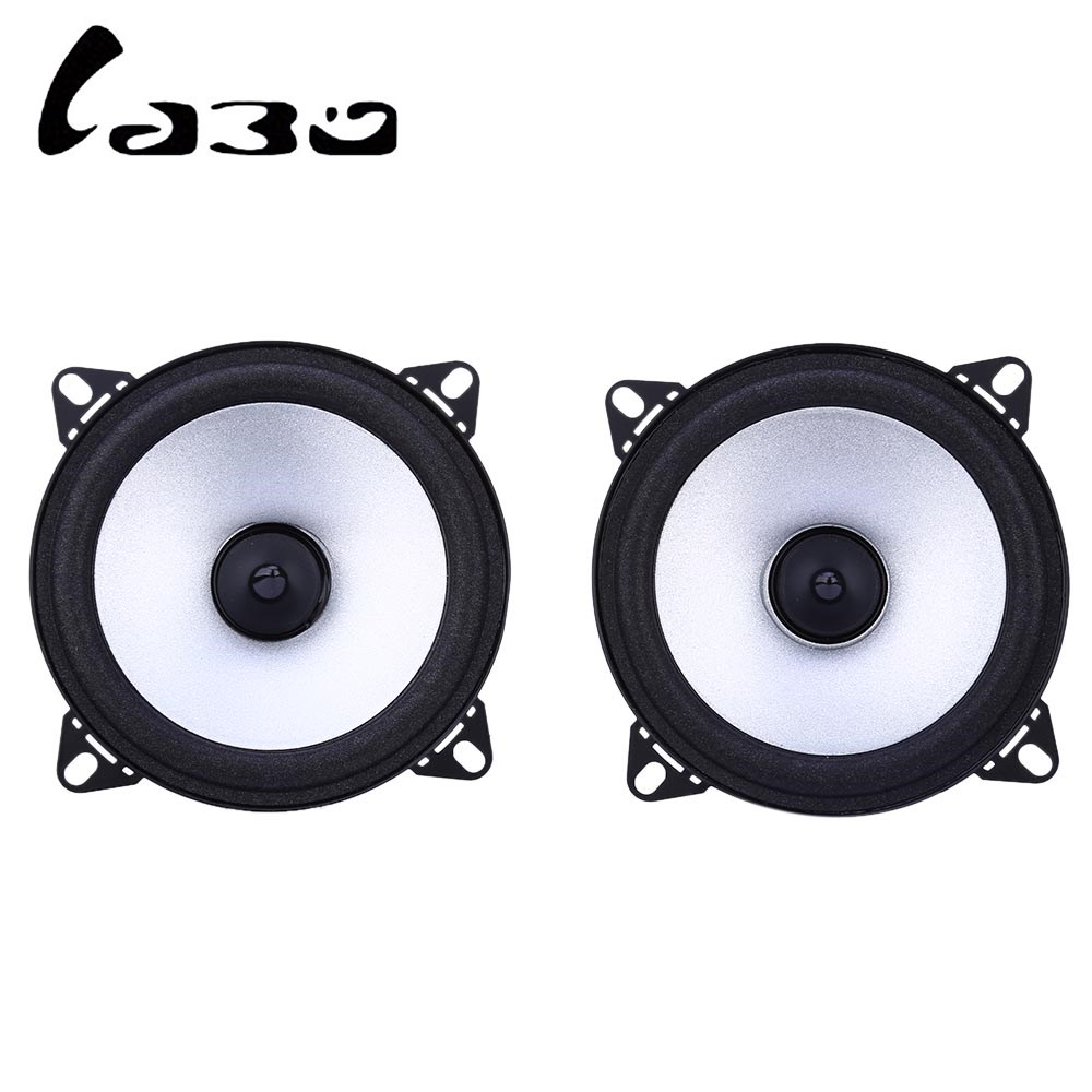 Paired LB-PS1401D Labo Car Speaker 4 Inch HiFi Full Range Tweeter Bocinas With High Sensitivity 88dB Good Bass Black Color