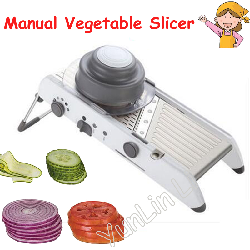 Manual Vegetable Shredder Household Fruits Cutter Stainless Steel Chopper CY041 8pcs sweet stainless steel flower shape mould cookie vegetable cutter