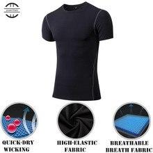 Высокая гибкость, компрессионный базовый слой, профессиональная плотная футболка, топ с короткими рукавами, футболки для бодибилдинга, быстросохнущее нижнее белье