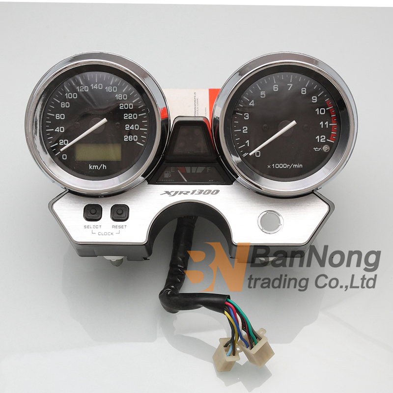 Motorcycle Gauges Cluster Instrument speed meter table assembly For Yamaha XJR1300 XJR 1300 1998 2002