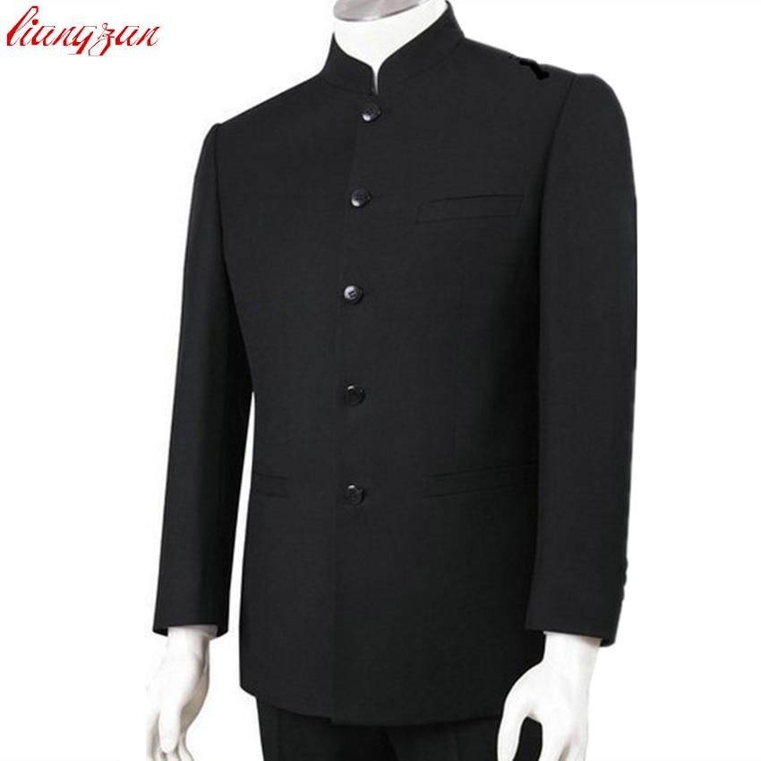 (Jackets+Pants) Men Business Suit Sets Slim Fit Chinese ...