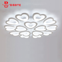 New modern led ceiling light for living room bedroom dining room acrylic iron body Indoor home ceiling lamp lighting fixtures цена