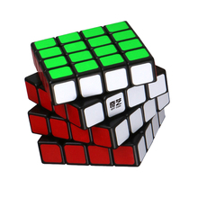 цена на QiYi Magic Cubes 4x4x4 Puzzle Speed Cubo Magico Profissional Magnetic Neo Cube Magnetico Educational Toys For Children Game Cube