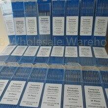 Вольфрам электроды сварочные электроды 1,0 1,6 2,0 2,4 3,0 3,2 4,0 мм WT20 WC20 WL20 WL15 WZ8 WP WY20 WR20 Tig сварочный аппарат аргоновой-присадочный пруток