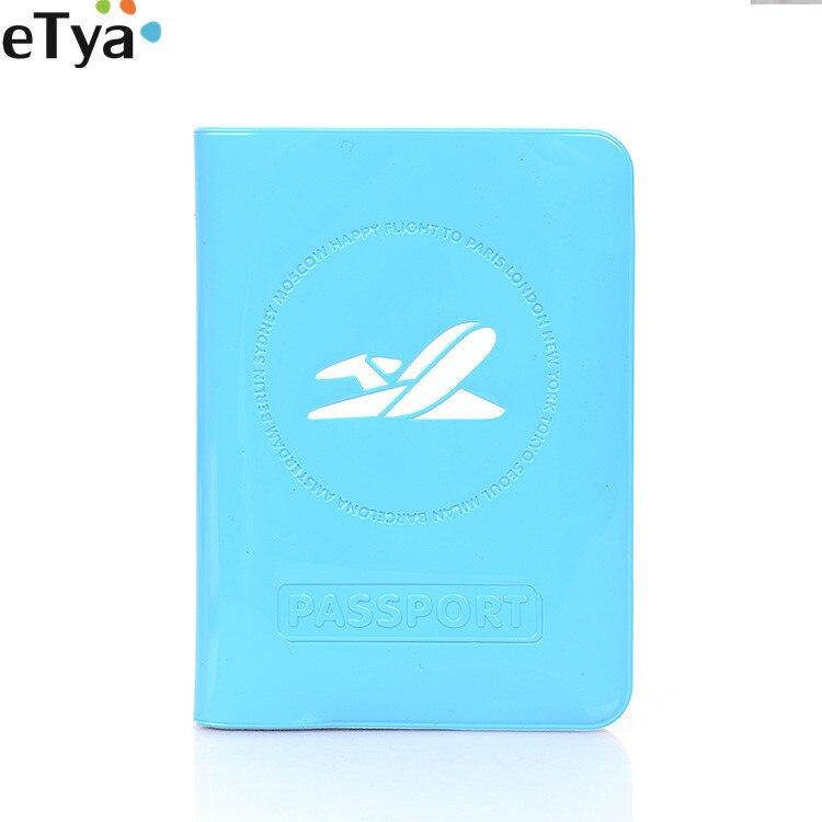 Fashion Passport Cover Women Men Travel Tickets Passport Case  ID Card Holder Bag Passport Wallet Protective Bag Case