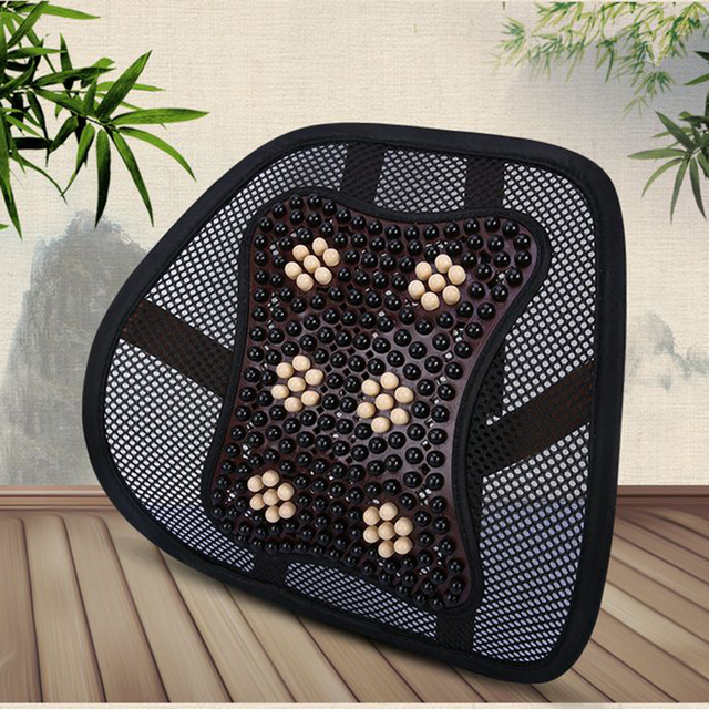 Chair Massage Accessories Tub Covers Argos Car Seat Office Back Lumbar Support Pillow Mesh Ventilate Cushion Pad Auto Interior