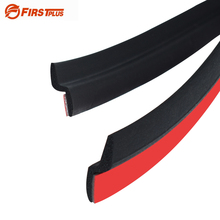 Z Type Car Door Seal Rubber Waterproof Anti dust Sealing Strips Trim For Auto Doors Edge Soundproof With Quality Sticker