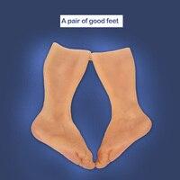 Искусственные, силиконовые протезы для ног покрытие для ног шрамы защищают поврежденную кожу возможность выбора цвета