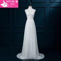 Online Shop China Bridal Dresses 2016 Real Sample Vintage Wedding Dress Beading V Neck Sequins Delicate