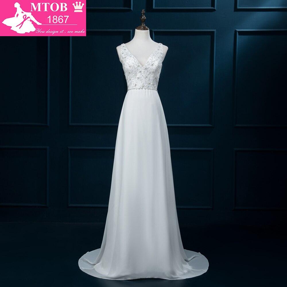 online shop china bridal dresses 2016 real sample vintage wedding dress beading v neck sequins. Black Bedroom Furniture Sets. Home Design Ideas