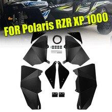 KEMiMOTO for Polaris RZR XP 1000 4 Door XP1000 RZR-4 900 2014-2017 Four Lower Insert Panels