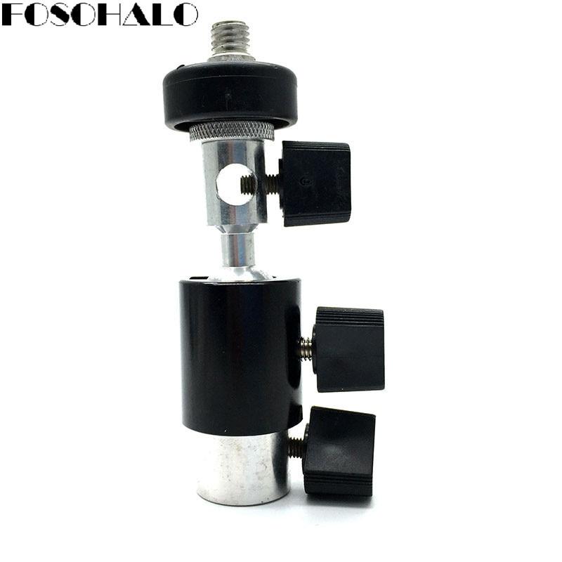 FOSOHALO 360 graden draaibare kogel Swivel Light Stand Flash beugel D - Camera en foto - Foto 1