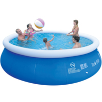 Big Outdoor Child Summer Inflatable Family Swimming Pool Kids Toys Family Garden Play Pool Round Swimming Pool Blue