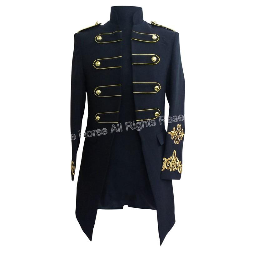 Pria blazer, Blazer panjang, Pria slim fit pakaian panggung untuk pria Cosplay chaquetas, Hombre mens jaket, Blazer panjang pria