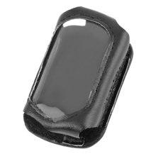 Car keys Leather Case For Starline B9/B6/A91/A61 LCD Two Way Car alarm System Remote Control key leather case car-stylin