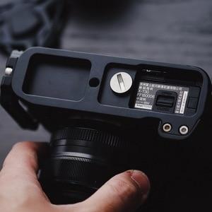 Image 2 - أسود Pro سريع إطلاق L لوحة/L نوع قوس ترايبود يصلح ل فوجي فيلم فوجي XT20 X T30 يد ماسِك للجوّال