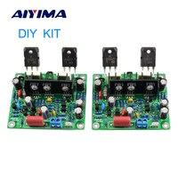 AIYIMA 2 uds MX50 SE 100WX2 canales duales amplificador de potencia de Audio de estéreo HiFi amplificadores Kit de bricolaje