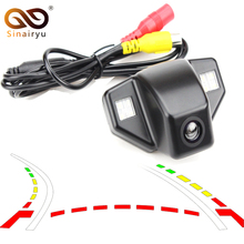 Car Dynamic Trajectory Reverse Backup Rear View Camera For Honda Accord CRV CR-V Fit Odyssey Vehicle Tracks Parking Camera