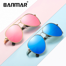 BANMAR Fashion Baby Boys Kids Sunglasses Pilot Style Brand Design Children Sun Glasses UV400 Protection Oculos De Sol Gafas 3028
