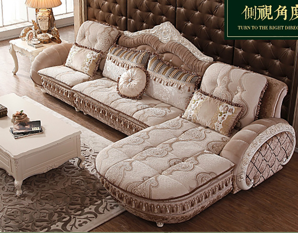 1+1+3 seat /lot fabric living room sofa set combination for big ...
