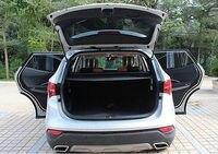 Магистральные Тенты черный Грузовой Обложка для Hyundai Santa Fe IX45 2013 2016 5 мест