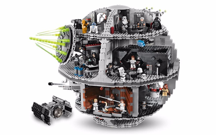 LEPIN 05035 Star Wars Death Star Set 3804pcs Building Block Bricks Toys Kits Compatible with LEGOd 10188 lepin 16002 modular pirate ship metal beard s sea cow building block set bricks kits set toys compatible 70810