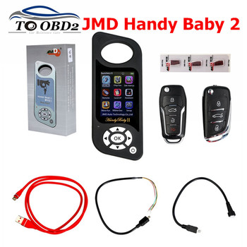 Newest JMD Handy Baby II Auto Key Tool for 4D/46/48/G Chips Programmer Handy Baby 2 English/Spanish+G and 96bit 48 function