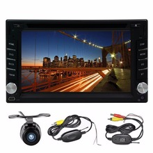 6.2 inch 2din Android4.4 Car DVD GPS Navigation Quad-Core touch Screen WiFi Car Srereo audio Radio Player +Free wireless camera