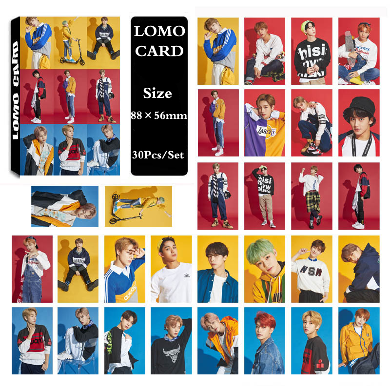 US $1 97 34% OFF|KPOP NCT NCT127 NCT U NCT DREAM 2019 Season Greetings  Photo Card Poster Lomo Cards Self Made Paper HD Photocard-in Jewelry  Findings &