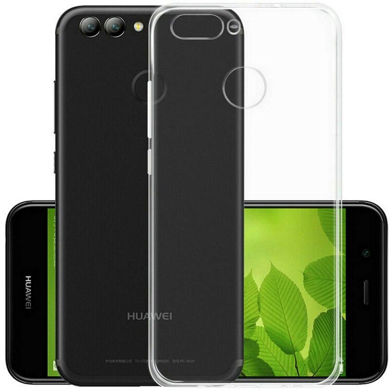 Holazing оптовая продажа прозрачный гель ТПУ Резиновая Мягкий силиконовый чехол для Huawei Nova 2 5.0 ультра тонкий защитный кожи крышка