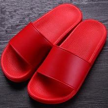 Новинка года; Лидер продаж; Летние уличные женские тапочки; нескользящая женская обувь на платформе; удобные домашние тапочки; цвет красный, черный