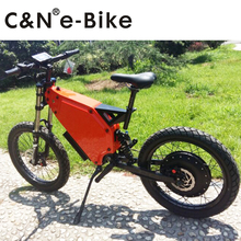 2017 New Design Long Range 72v 8000w Electric Bike Electric Motorcycle Mountain Bike 120km/h