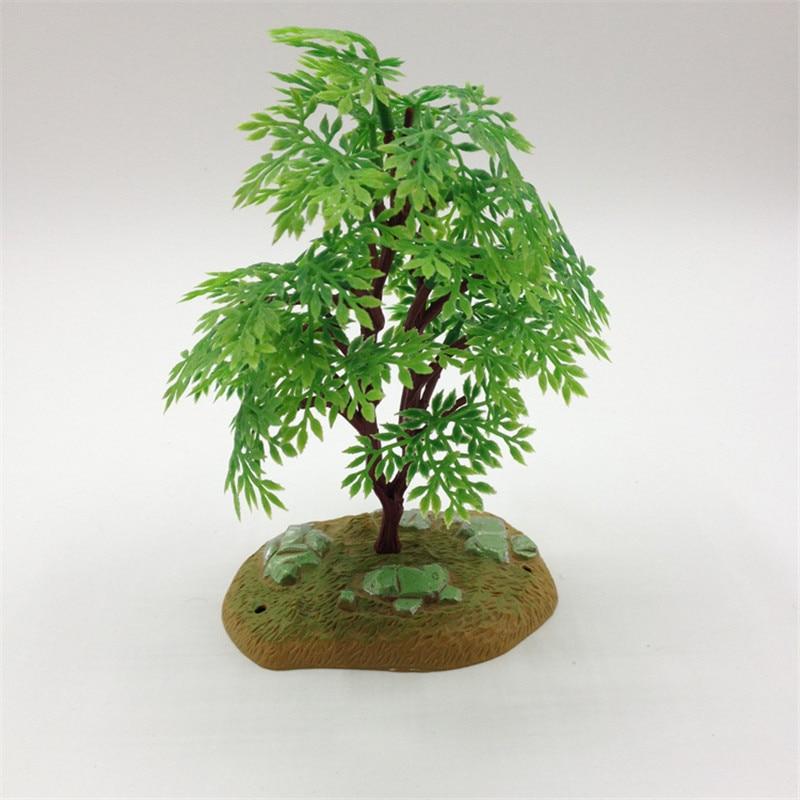 1pcs / lot Bezmaksas piegāde 2016. gadā jaunā dizaina modes mākslīgā plastmasas koku mākslīgā mini LSP koka apdare