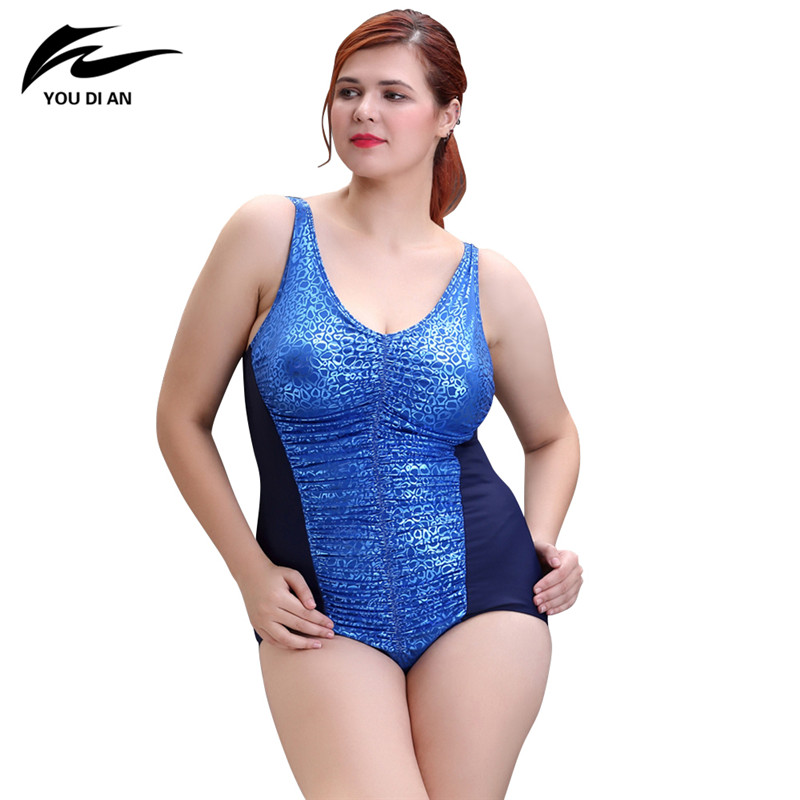 2017 Summer Sexy One Piece Swimsuit Plus Size Swimwear Women Push Up Bathing Suit Print Large Size High Waist Beachwear 2017 new one piece swimsuit push up plus size swimwear women summer sexy beach dress large size bathing suit swimming dress