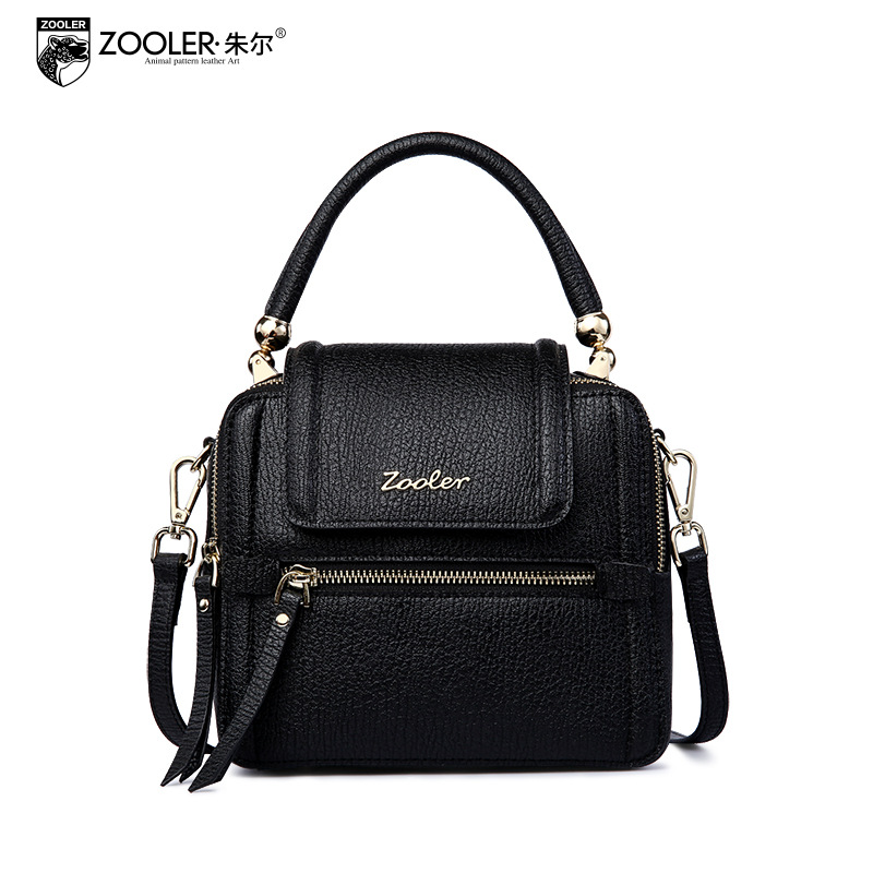 ZOOLER Women Genuine Leather Small Tote Bags for Women 2017 Winter New Simple All Match Flap Shoulder Messenger Bag Sac A Main zooler brand genuine leather shoulder bags for women casual messenger bag ladies small cowhide leather crossbody bags sac a main