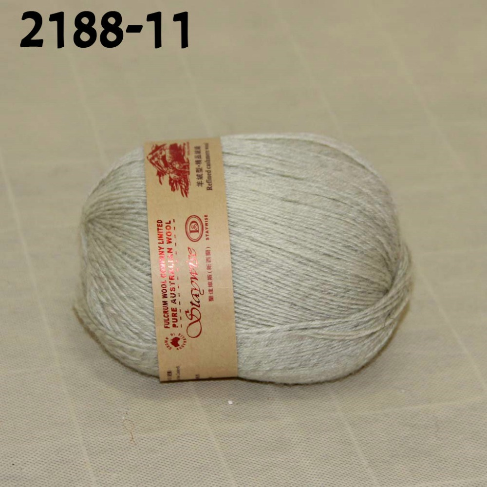 ᗗLuxe cachemire laine raffinée douce et chaude à tricoter fil 2188 ... a83afb9f617