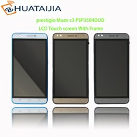 New Module Lcd Display Touch Screen Matrix For Prestigio Muze C3 PSP3504 PSP3504DUO 3504 Assembly