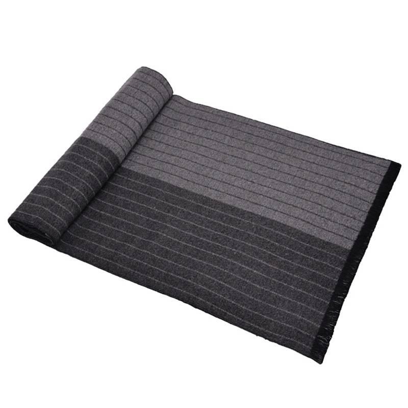 Trendy Design Striped Cashmere Scarf Men Luxury Brand Designer font b Tartan b font Foulards Male