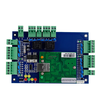 Free software door access controller two door management wiegand PCB board support interlock
