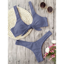 Women's Knotted Padded Swimsuit