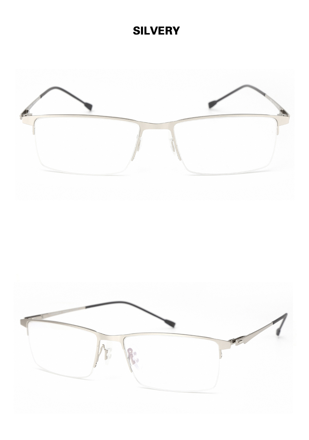 cc4ee0a39b Chashma Brand Design Glasses Frame Fashion Alloy Eyeglass Semi Frame  Spectacle Frame Mens Optical Spectacles Frames Male. Size 1 YS4 YS5 YS2 YS3  ...