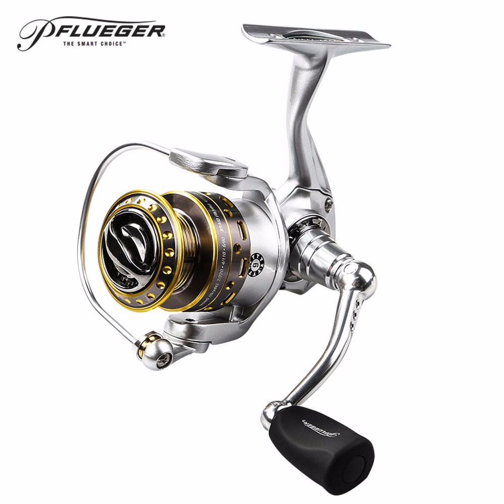 Original Pflueger Supreme Spinning Fishing Reel 2500 3000 Front-Drag Fishing Reels 8+1BB with Magnesium Body and Rotor 100% original shimano alivio spinning fishing reel 1 1bb with original nylon fishing line ar c spool rigid body fishing reels